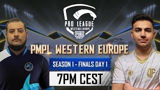 [EN] PMPL Western Europe Finals Day 1   Season 1   PUBG MOBILE Pro League 2021