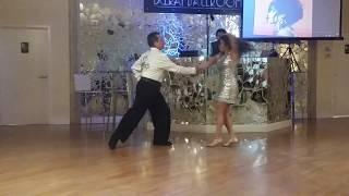Miami Style Salsa dance performance: Jon Melendrez & Julie F. dancing a Salsa