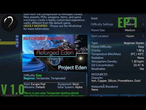 Empyrion 1 0 Reforged Eden Ep 1 Alien Start