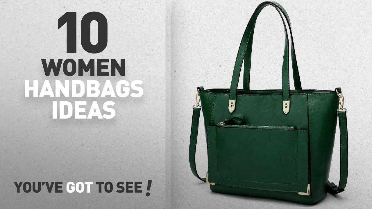 c89b80eb5eb2 Top 10 Green Handbag   Winter 2018    YNIQUE Women Top Handle Handbags  Satchel Purse Tote Bag