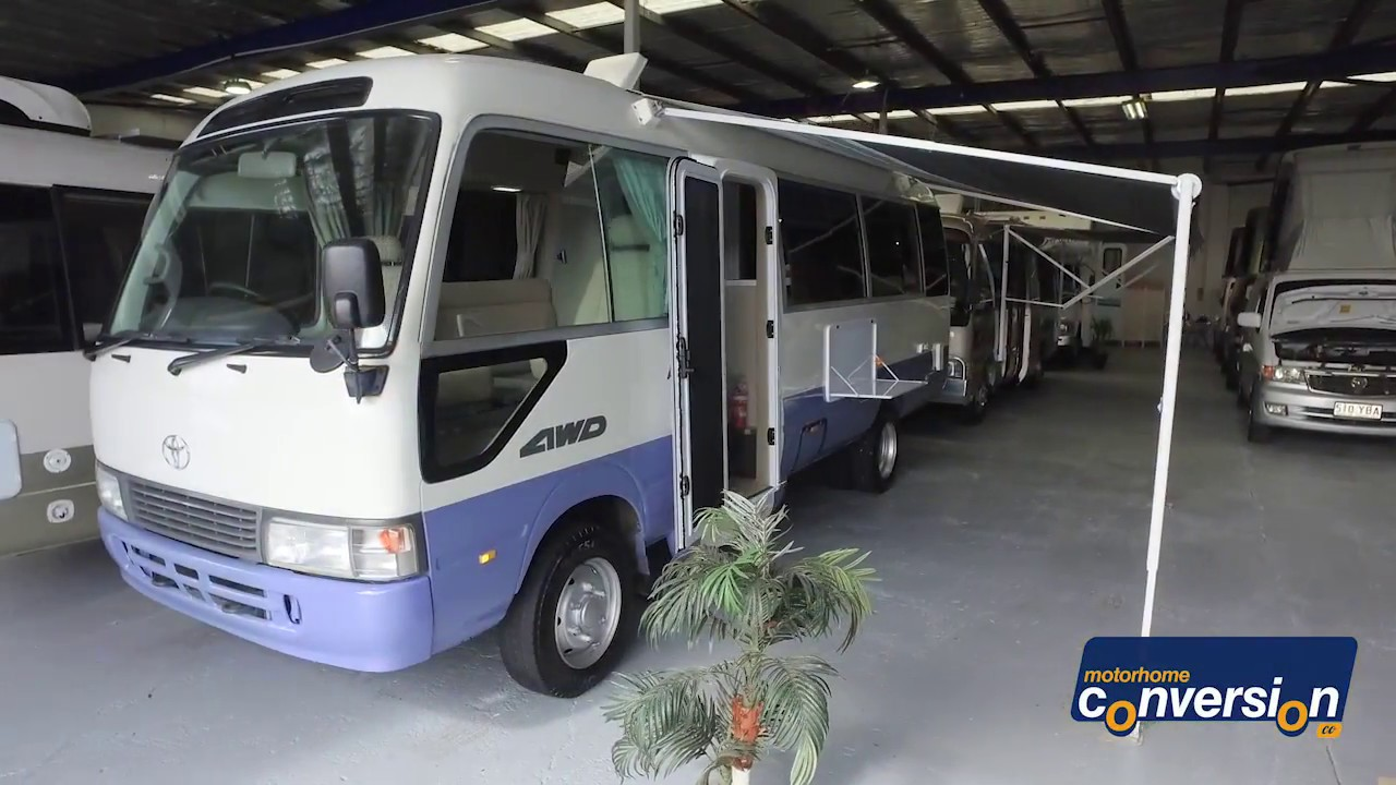 c9b27e6a4d 4WD Toyota Coaster  2117 Only  140