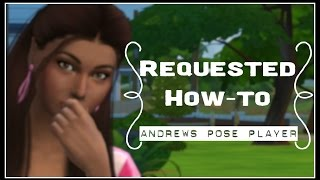 Requested How-To: Andrew's Pose Player Installation