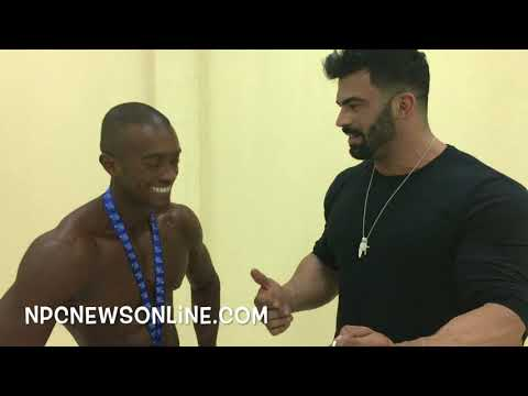 2017 IFBB Kuwait Pro Men's Physique Winner Abdullah Alsaeed interviewed by Sergi Constance