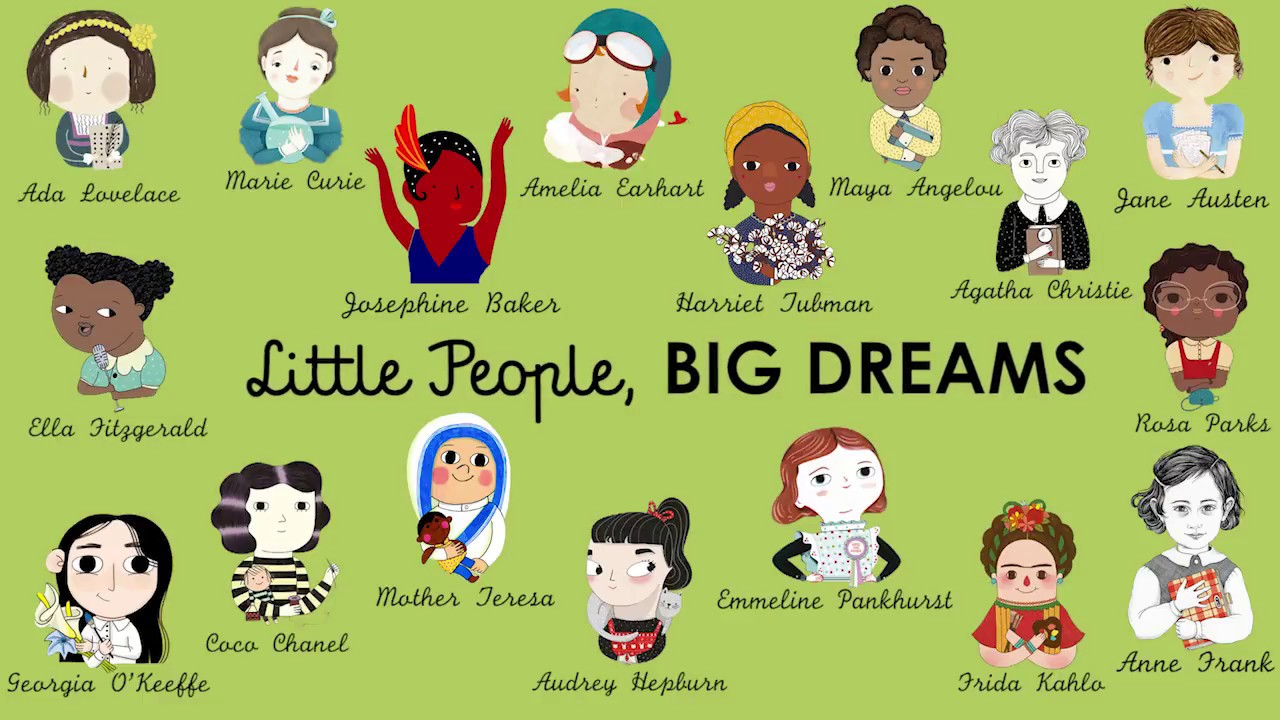 new releases in the little people big dreams series for august youtube. Black Bedroom Furniture Sets. Home Design Ideas
