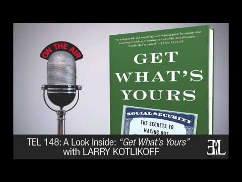 Get What's Yours by Larry Kotlikoff TEL 148