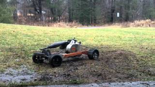 chainsaw rc car.