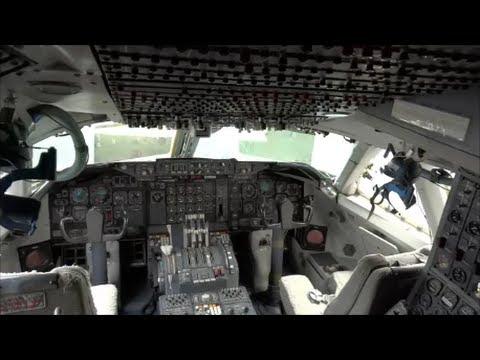 "Inside The 1st Boeing 747 ""City of Everett"" Cockpit & Cabin Interior"