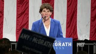 Amy McGrath Concession Speech | 2018 General Election | KET