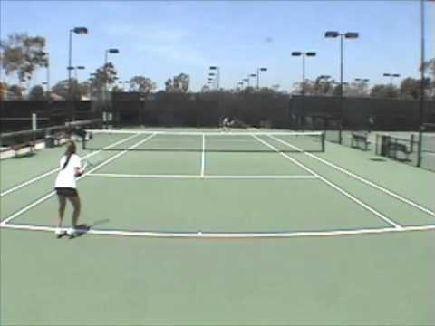 Elika Fateri Recruiting Tennis Video