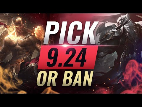 OP Pick or Ban: BEST BUILDS For EVERY Role - League of Legends Patch 924