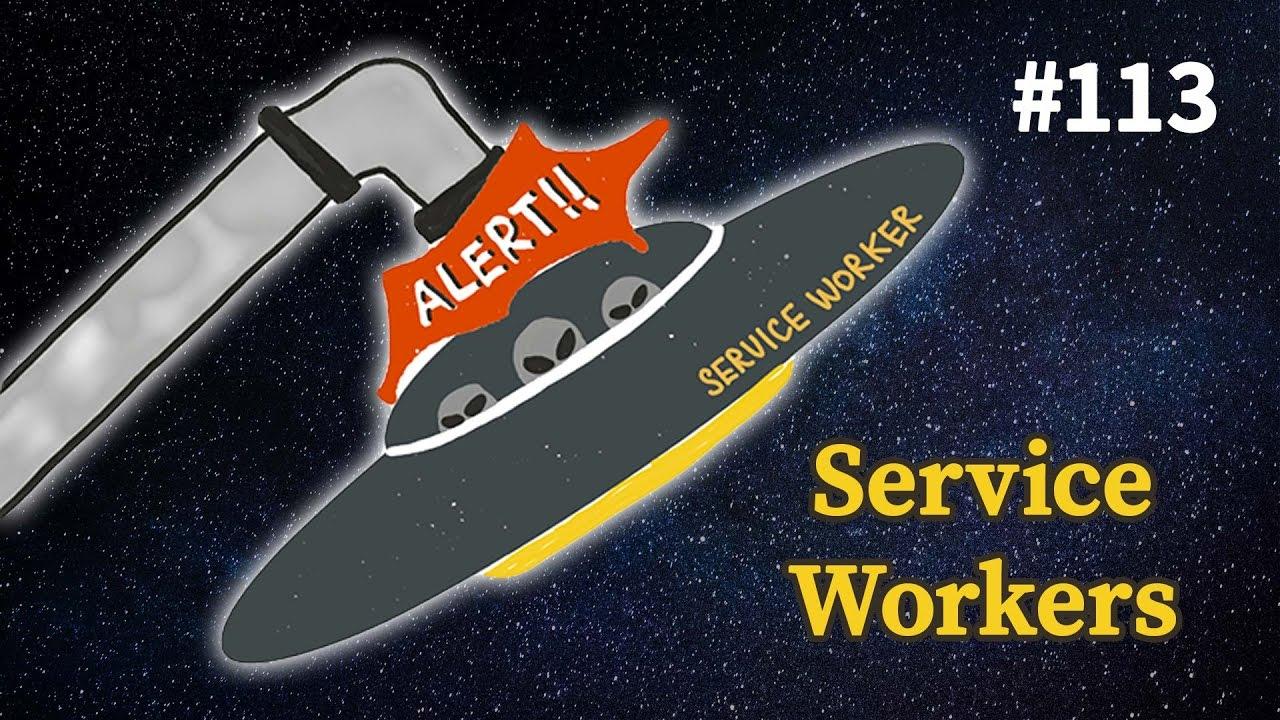 «Краткое введние в Service Workers» из подкаста Суровый веб #113  - «Видео уроки - CSS»
