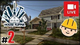 """[Archiwum] Live - HOUSE FLIPPER! (1) - [2/2] - """"Zabawa w elektryka"""""""