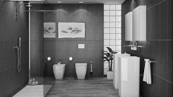 Grey Bathrooms Decorating Ideas