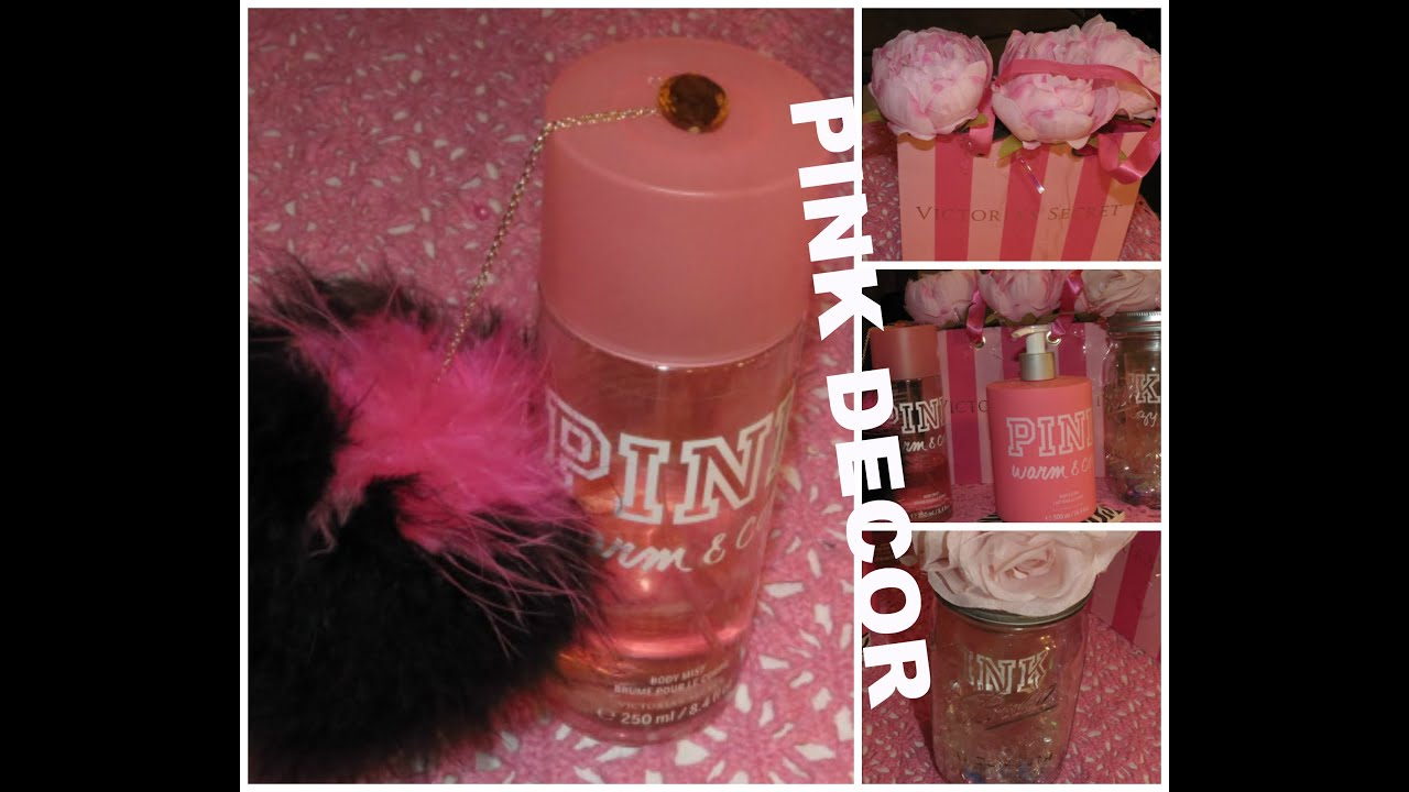 100 pink bedroom decor images my blog for Victoria secret bathroom ideas