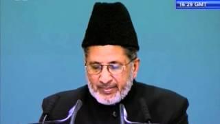 Urdu Speech: Khilafat-e-Ahmadiyya Guide for Worldwide Nations at Jalsa Salana Germany 2012