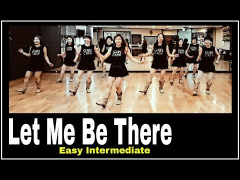 Let Me Be There Line Dance (Easy Intermediate)윤은희 (EunHee)