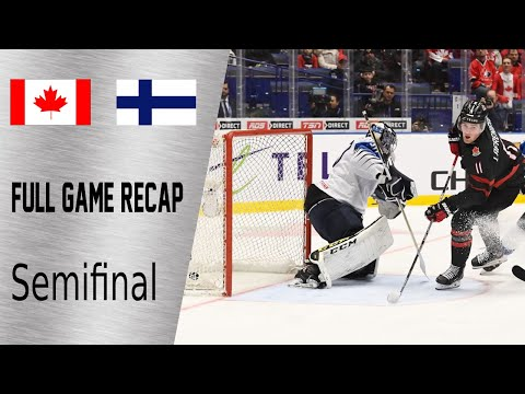 Canada Vs Finland Semifinal Game Highlights | January 4th, WJC 2020