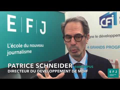 Patrice Schneider, Dir. du développement (MDIF) #4MParis