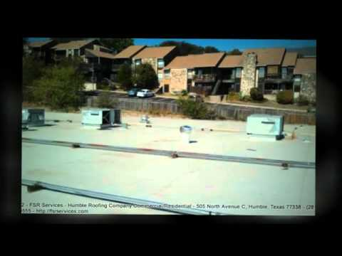 Commercial Flat Roof Houston Fsr Services Tpo Pvc