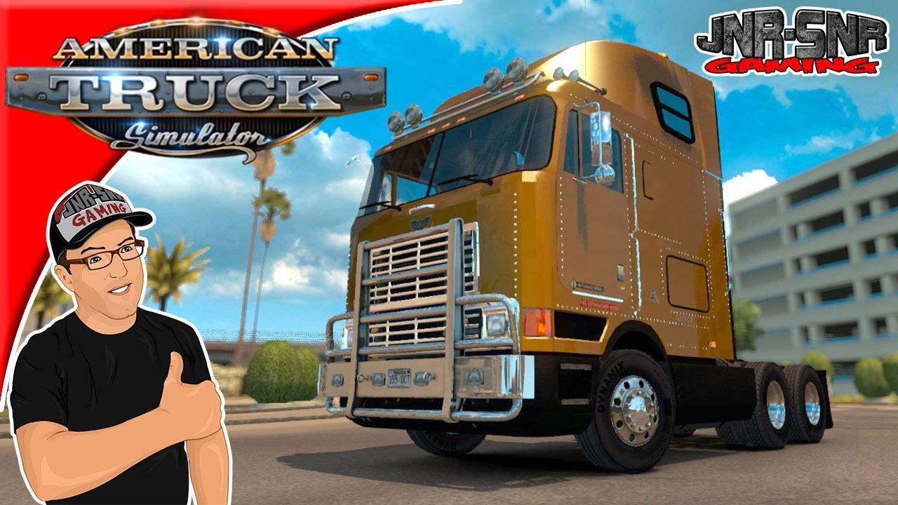 American Truck Simulator International 9800 Eagle Mod