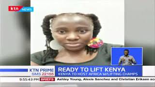 Kenya's weightlifting team prepare to lift the nation