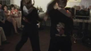 Hannah and Douglas dance at Ina