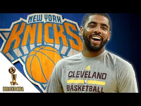 Kyrie Irving Trade To New York Knicks For Carmelo Anthony?!