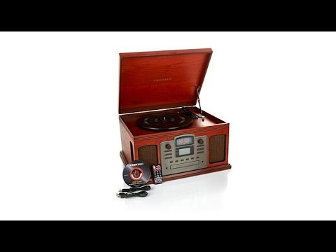 Crosley Director 8in1 Record Player with CD Recorder