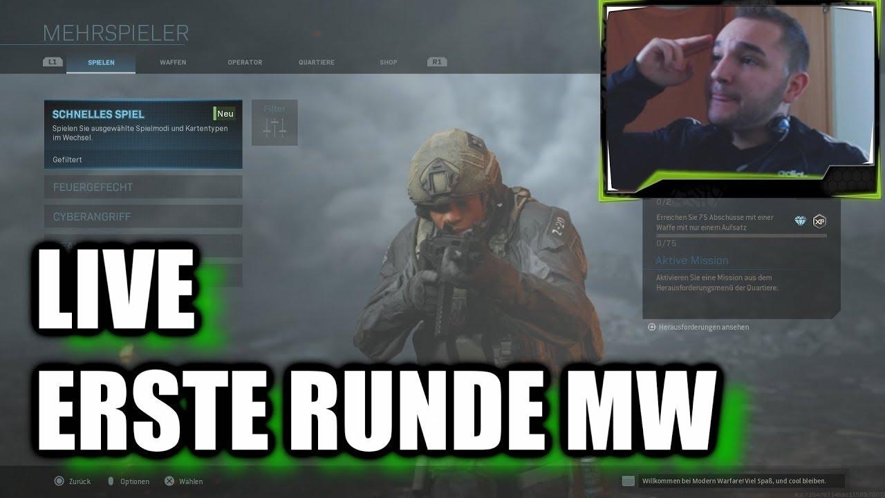 Modern Warfare - Meine Erste Runde Online