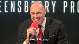 """I'M COMING FOR YOU BABY! "" TYSON FURY SENDS REMATCH MESSAGE TO DEONTAY WILDER"