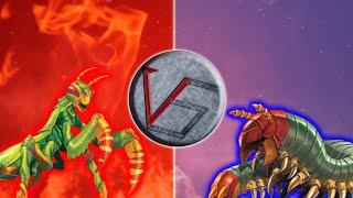 mantis vs escolopendra epic versus