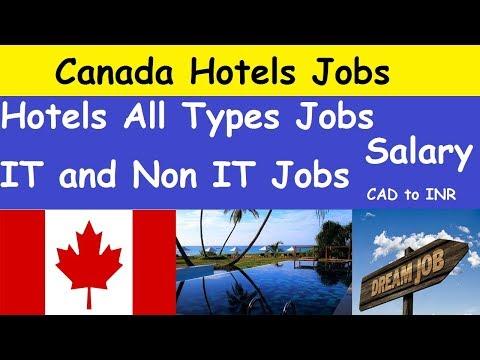 Canada Hotels Jobs Salary L Canada Hotels All Types Jobs L Canada IT And Non IT Jobs Salary