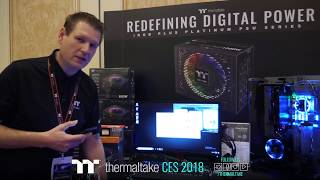 CES 2018 Thermaltake Live Stream Day 3