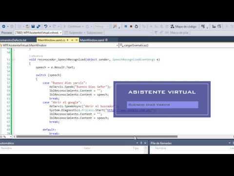 Crear tu Asistente Virtual para PC en C# WPF parte 2
