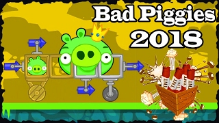 BAD PIGGIES 2018 When Pigs Fly Level 25 To 36