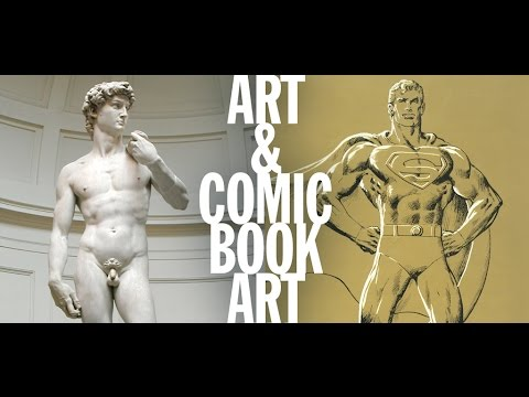 ART + COMIC BOOK ART lecture by Arlen Schumer
