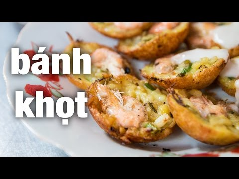 Vietnamese street food extremely tasty quot banh khot quot