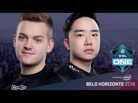 CS:GO - FaZe Clan vs. Ghost [Overpass] Map 1  - Group A Opening Match  - ESL One Belo Horizonte 2018