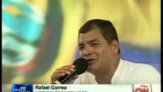 Presidente Correa advierte sobre conspiración para deslegitimar al Presidente Maduro