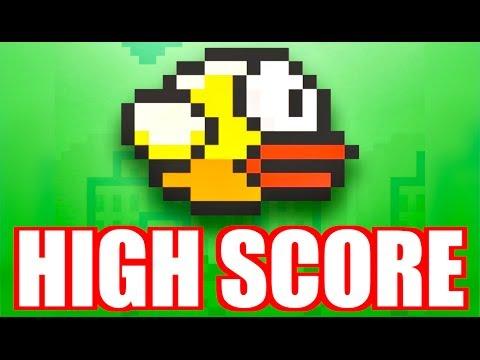 FLAPPY BIRD HIGH SCORE RECORD!!! - YouTube