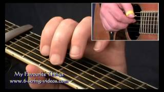 How To Play My Favourite Things for Fingerstyle Guitar (full lesson)