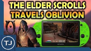 Unreleased PSP Game The Elder Scrolls Travels Oblivion On PS Vita!