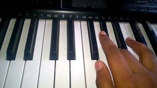 kaththi theme music in keyboard-simple tutorial and cover