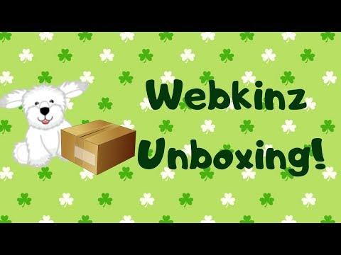 Webkinz Unboxing!