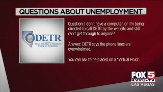 Q&A: Your Nevada unemployment questions answered | RESOURCES