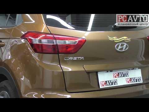 Hyundai Creta установка Android магнитолы и камеры заднего вида