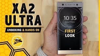 Sony Xperia XA2 Ultra Unboxing and First Impressions