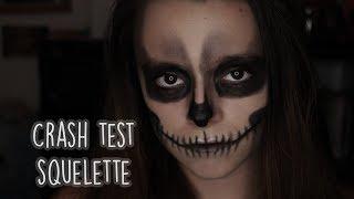CRASH TEST #1    Je me transforme en squelette !