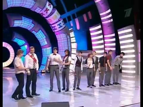 Команда КВН Гураны г. Чита - Приветствие (1/8 Премьер-лиги)