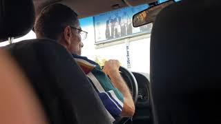 Украинка в армянском такси))))))